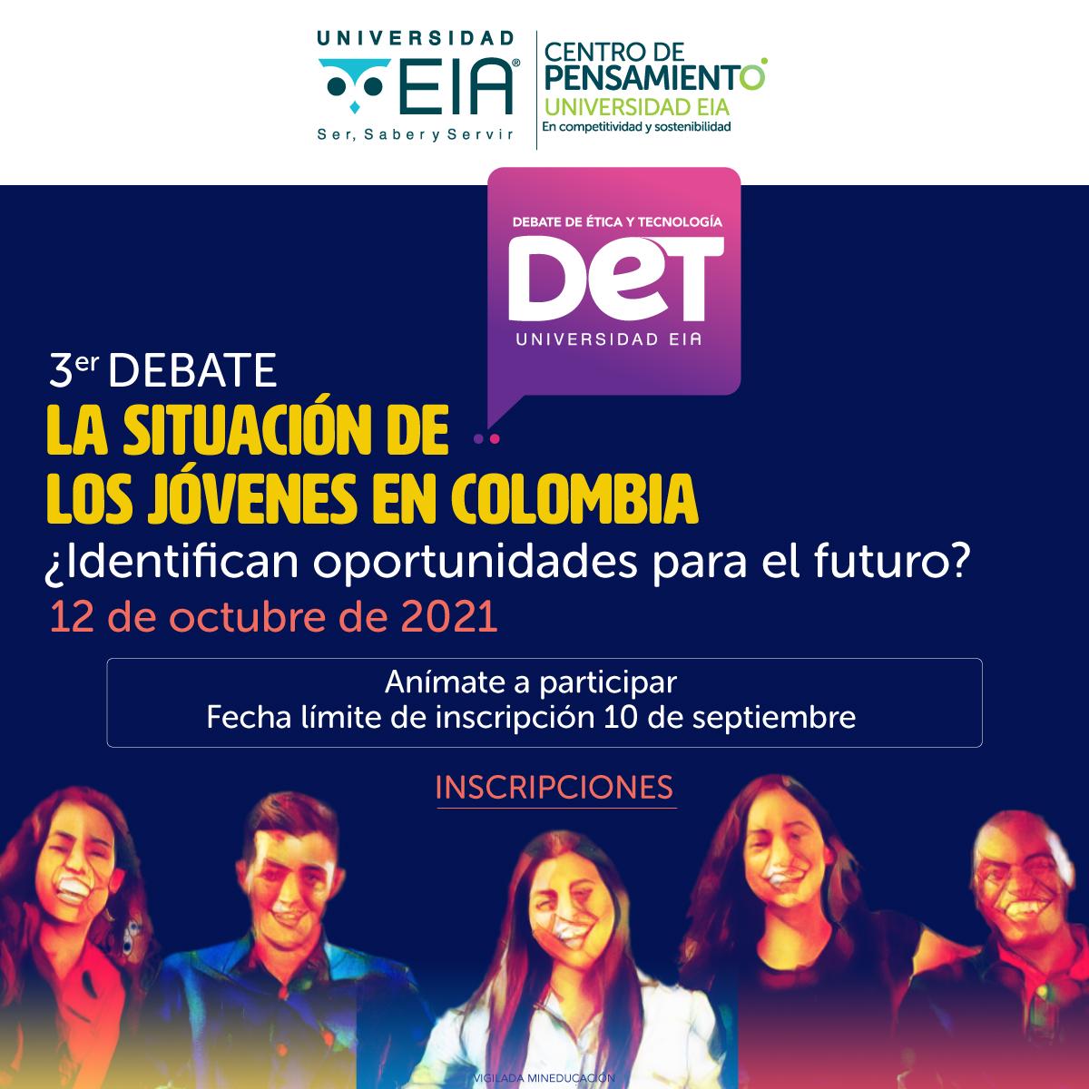 Tercer Debate de Ética y Tecnología - EIA