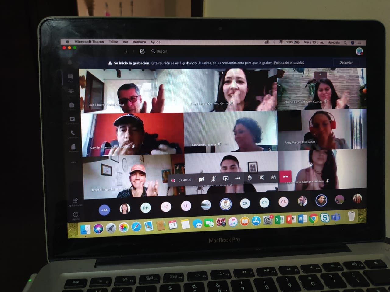 Así transcurrió el Día de la Familia EIA (virtual)