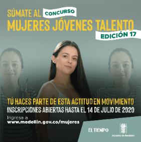 Convocatoria del concurso Mujeres Jóvenes Talento cerrará el 14 de julio