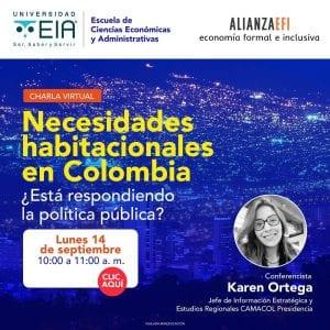 Necesidades habitacionales en Colombia