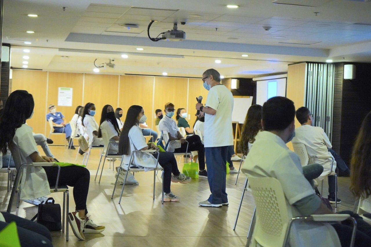 HPTU recibió a los estudiantes de 3. er semestre de Medicina