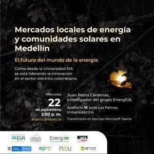 Evento Transactive Energy: mercados locales