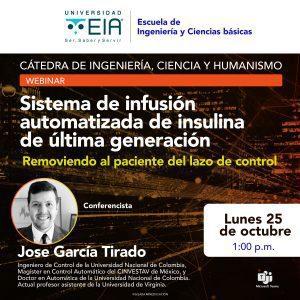Charla: Sistema de Infusión Automatizada de Insulina de Última Generación